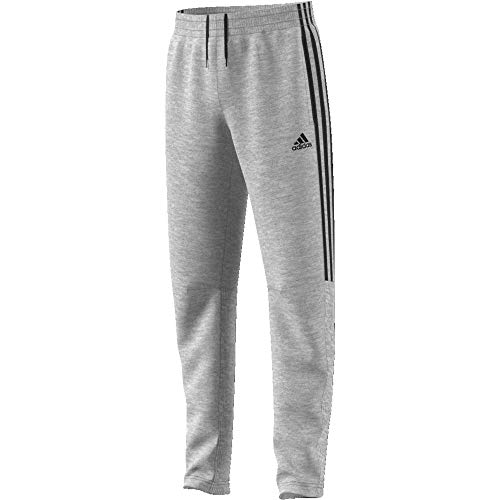 adidas YB MH 3S Tiro P Pantalon Garçon Medium Grey Heather/Black FR : S (Taille Fabricant : 7-8A)