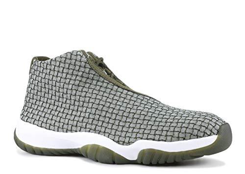 Nike Air Jordan Future Herren Hi Top Basketball Trainers 656503 Sneakers Schuhe (UK 8.5 US 9.5 EU 43, Olive Canvas 305)