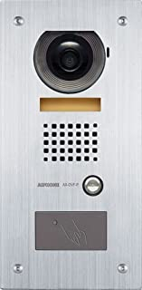 Aiphone AX-DVF-P Flush-Mount Audio/Video Door Station with HID Proximity Card Reader for AX Series Integrated Audio & Video Security System
