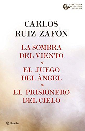 La Sombra del Viento + El Juego del Ángel + El Prisionero del Cielo (pack) (El Cementerio de los Libros Olvidados nº 1)