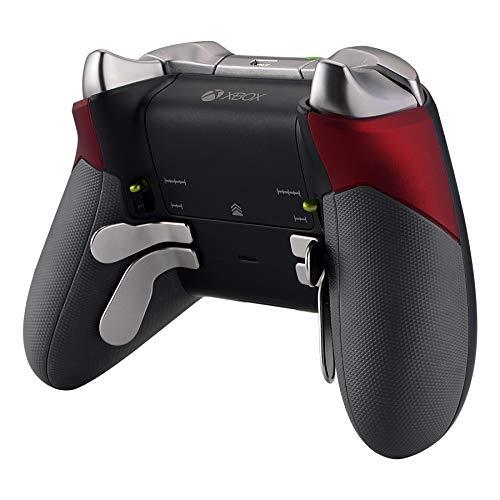 eXtremeRate Grip Cover per Xbox One Elite Controller Pannello Laterale Pezzi Ricambio per Xbox One Elite Joystick(Model 1698)-Rosso