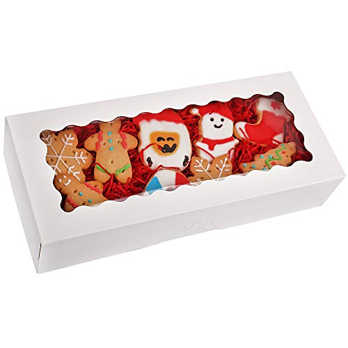 20-Pack-Cookie-Boxes-with-Window-125-x-55-x-25-White-Bakery-Boxes-Auto-Popup-Treat-Boxes-for-Muffins-Donuts-and-Pastries