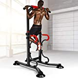 CEspace Home Pull Up Dip Stand Power Tower Adjustable Multi-Function Fitness Strength Training...