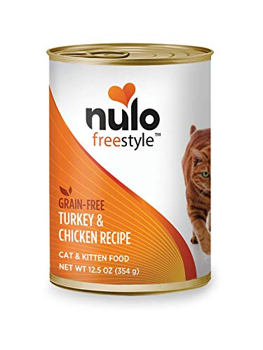 Nulo Grain Free Canned Wet Cat Food (Turkey & Chicken, 12.5 oz, Case of 12)