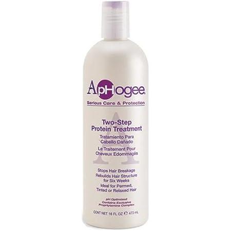 ApHogee Tratamiento para cabellos dañados, de proteínas, de dos pasos, 473 ml