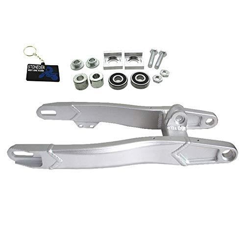 STONEDER Brazo basculante de aluminio de 480 mm para motos de cross Pit Dirt Bike de 125 cc, 140 cc, 150 cc, 160 cc, 190 cc.
