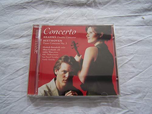 Brahms: Double Concerto, Beethoven: Piano Concerto No. 3 - Yan Pascal Tortelier (Conductor), Vassily Sinaisky (Conductor), BBC Philharmonic (Orchestra), Ashley Wass (Piano), Elisabeth Batiashvili (Violin), Alban Gerhardt - BBC