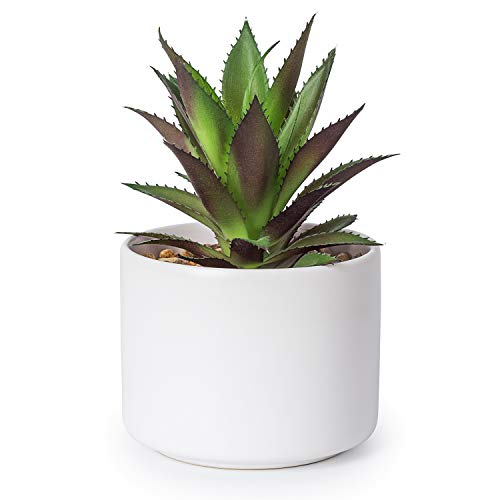 Lvydec Artificial Succulent Plants - Fake Pineapple Top Potted Plant with a...