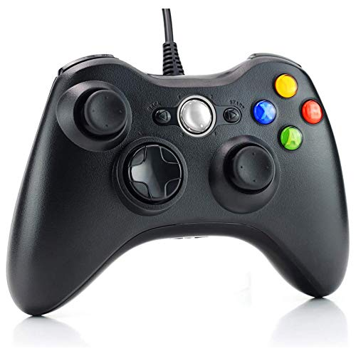 Dhaose Controller für Xbox 360, USB Game Controller mit Kabel Wired Gamepad Joypad Joystick für Microsoft Xbox 360 PC Windows 7/8/10/XP