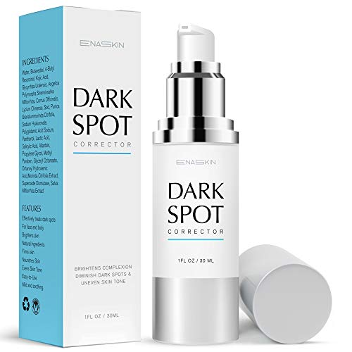Enaskin Dark Spot Corrector Face Serum, Skin Lightening Serum with Advanced Ingredients 4-Butylresorcinol, Kojic Acid, Lactic Acid and Salicylic Acid