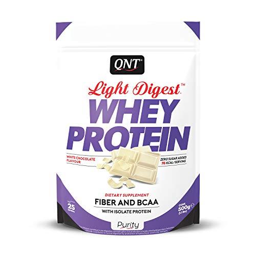 QNT Light Digest Whey Protein Cioccolato Bianco 500g