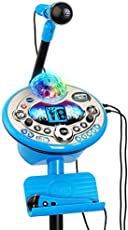 VTech Kidi Star Karaoke System 2 Mics with Mic Stand & AC Adapter, Blue