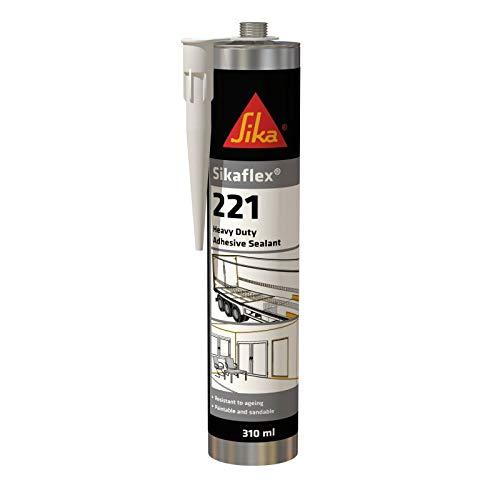 SikaFlex-221 - Dichtungsmittel - Sika - 300 ml kartusche, Braun