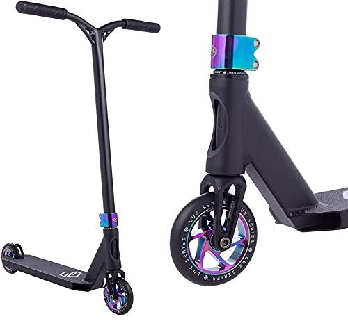 Striker Lux - Patinete para acrobacias (87 cm, 3,1 kg), color negro