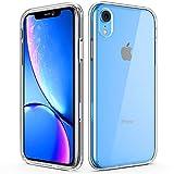Amuoc iPhone XR Case | iPhone XR Cases | Soft TPU Bumper | Hard PC Back Cover Case Clear for iPhone XR 6.1 inch (2018)