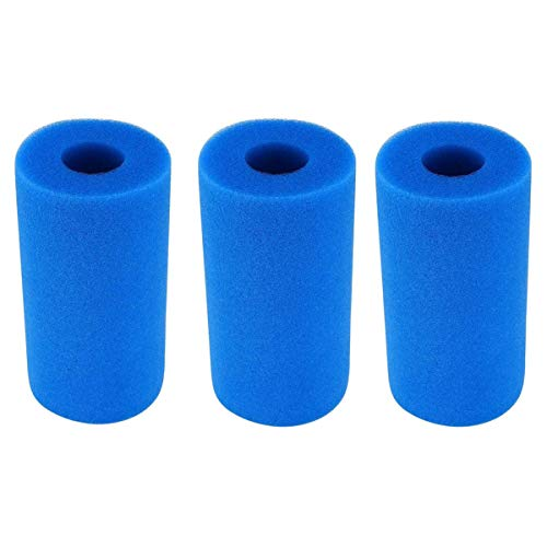 Esponja de filtro, Esponja de filtro de piscina, La esponja de filtro se puede reutilizar, la esponja de filtro se usa para filtrar y purificar el agua de la piscina-estanque de peces-SPA. (3)