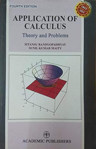 Application of Calculus Theory and Problems, 4/e