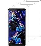 SNUNGPHIR Protector de Pantalla para HTC U12 Plus, 3 Pack Vidrio Templado [9H Dureza] HD Transparente Resistente Arañazos [No Burbujas] Film Cristal Templado para HTC U12+