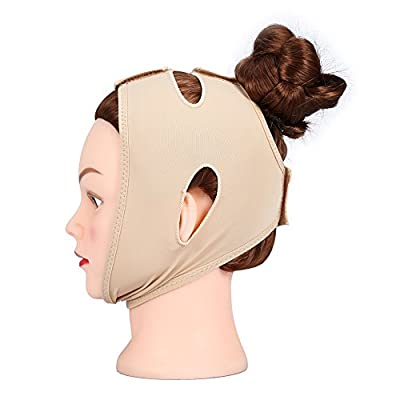 Slimming face band, slimming face mask, facelift mask, sleep neck mask, reduce double chin bandage(L)