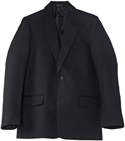 Black Trutex Boys Boys Zip Contemporary Blazer 16 Years UK