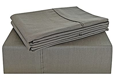 PHF 300T Sheet Set 100% Cotton Satin Warm Sheet for Winter