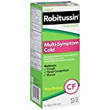 Robitussin Adult Multi-Symptom Cold Liquid 8 oz (Pack of 2)