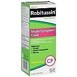 Robitussin Adult Multi-Symptom Cold Liquid 8 oz (Pack of 2)