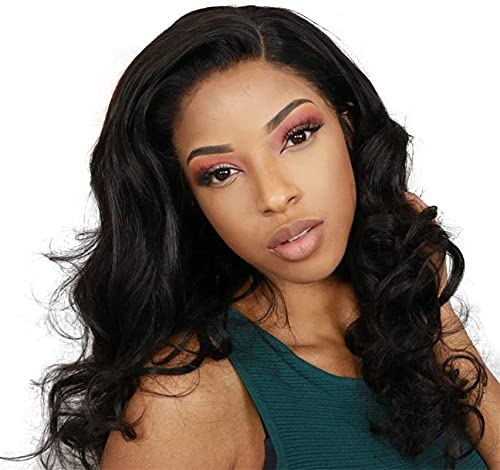 LCNING Wig Wigs Wig Body Wave Human Hair Human Hair Hair Wig 6x6 Lace Wig 6x6 Closure Wig Transparent Lace Brazilian Brazilian Wig with Closure Lace Wig Brazilian Natural Hair for Daily Party