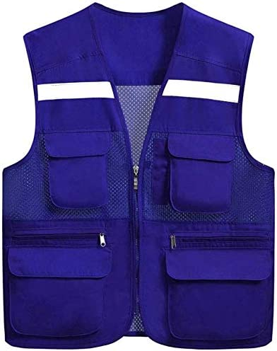 TYTZSM Import High Visibility Waistcoat and Max 65% OFF Multi-Pock Light Breathable