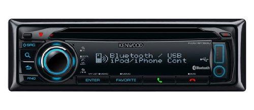 Kenwood Electronics KDC-BT50U 200 W - Radio para coche (200 W, 4.0 canales, 50 W, AAC,MP3,WMA, 87,5-108 MHz, 182 x 53 x 155 mm)