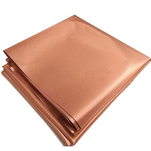 NAKAN Protective Cobre-níquel Faraday Tejido De Protección EMF Material De Bloqueo De Señal RFID Tejido Resistente A Los Ladrones - Tejido Liso(Size:1.1X3m)