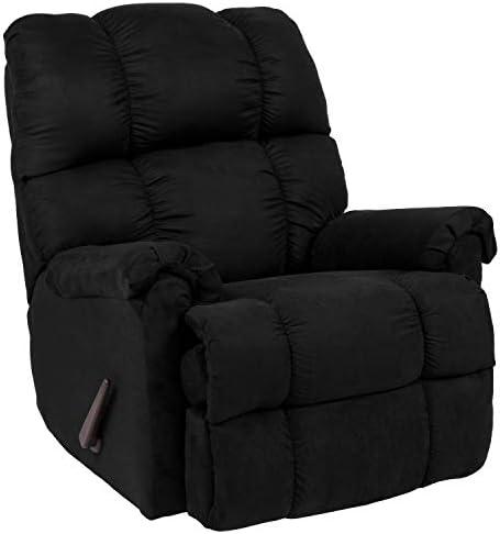 Best Flash Furniture Sierra Black Microfiber Rocker Recliner