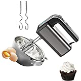 Skytone 800-Watt Hand Mixer Beater Blender Electric Cream Maker for Cakes with Base 5 Speed Control   2 Stainless Steel Beaters  2 Dough Hooks
