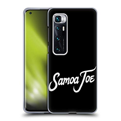 Head Case Designs Officially Licensed WWE Logo Samoa Joe Soft Gel Case Compatible with Xiaomi Mi 10 Ultra