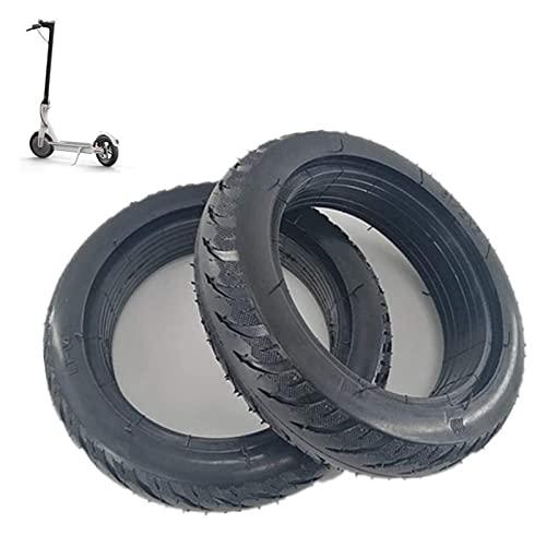 Neumático de scooter eléctrico, 8,5 pulgadas 8 1 / 2x2 neumático sólido a prueba de explosiones, resistente al desgaste antideslizante y sin mantenimiento, adecuado for M365 eléctrico Neumáticos de sc