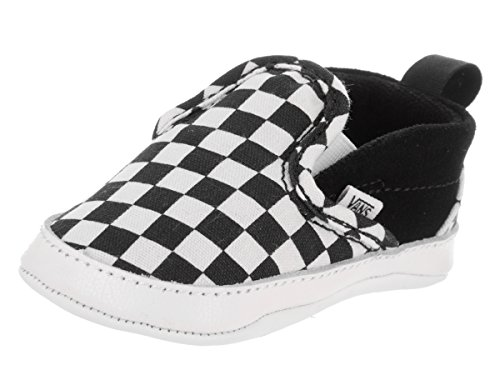 Vans Slip-On Crib Checkerboard Sneaker Kleinkinder 2 US - 4-5 Months