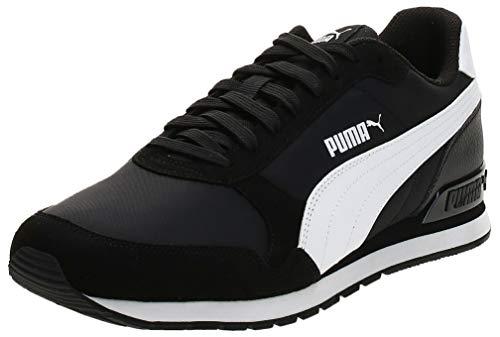 PUMA St Runner V2 NL, Zapatillas Unisex Adulto, Negro Black White, 41 EU