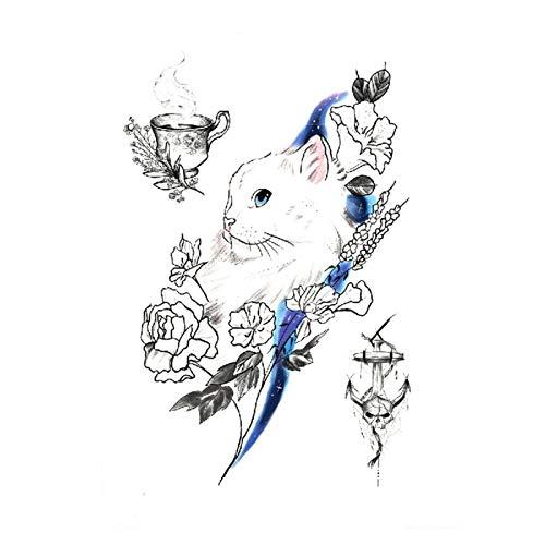 Etiquetas engomadas del tatuaje 5 PCS Geometría Cool Tatuaje Temporal Pegatina Mujeres Minimalistas Líneas Patrón Cuerpo Arte Nuevo Diseño Tatuajes De Hombres Fácil Para niños niñas manga completa