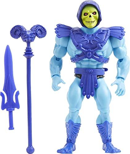 Masters of the Universe HGH45 - Origins Skeletor-Actionfigur, Figur zum Spielen und Sammeln, ab 6 Jahren Mehrfarbig