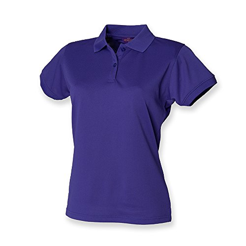 Henbury - Polo - - Polo - Col polo - Manches courtes Femme - Violet - Violet - 46