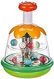 Chicco Magischer Kreisel, Kreiselspielzeug, Großer Knopf und Zentraler Spiegel zum Erlernen des Ursache-Wirkungs-Zusammenhangs, Geschenk für Babys und Kleinkinder, Kinderspielzeug 6-36 Monate