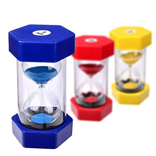 Schramm® XXL Sanduhr 5 Minuten Sanduhren Sandclock Eieruhr Sand Uhr Zeituhr Kurzzeituhr Sanduhr