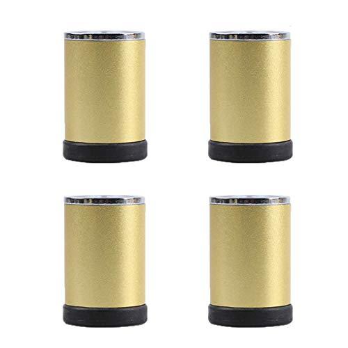 WRJY Patas para Muebles Patas de Mesa de Metal Ajustables Patas para Muebles Aleación de Aluminio Repuesto Redondo para Muebles Elevadores Patas Patas de sofá Patas de Escritorio para s