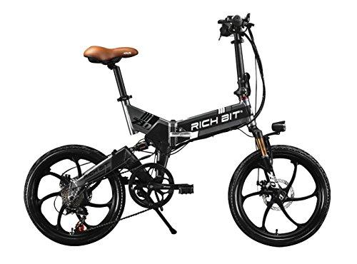New Hot top-730elettrico uomini/donne pieghevole City Bike 250W * 48V * 8AH 50,8cm ruota 7velocità Deragliatore Shimano, doppio disco freno in lega di magnesio