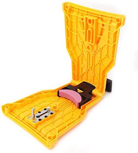 Kettensägen-Schärfset , Kettensägen-Zahnschärfer, Sägekette für Holzbearbeitung Selbstschärfende, schnell schleifende Kettenwerkzeuge - Passend für 14/16/18/20 Zoll-Kettensägen (1 Stück)
