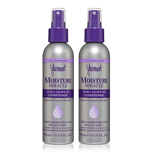 Jhirmack 10-in-1 Leave In Conditioner Spray, detangling, reduces frizz...
