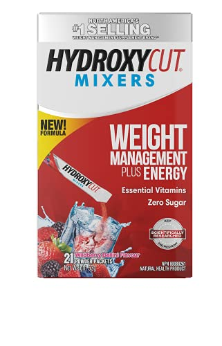 Weight Loss Drink Mix, Hydroxycut Lose Weight Drink Mix, Weight Loss for Women & Men, Weight Loss Supplement, Energy…