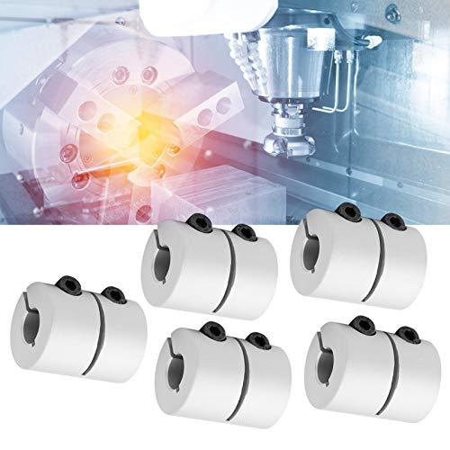 Shaft Coupler, Aluminium Alloy Flexible CNC Machine Motor Shaft Coupler for 3D Printer for Stepper Motor for Servo Motor