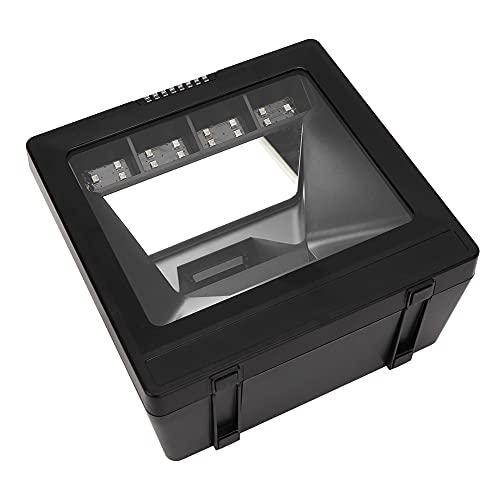 Weikeya Lector de códigos de Barras Rojos, con ABS y PC Plastic Code39 4mil USB Lector de código de Barras automático para Pago