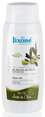 Lixone Gel de Baño y Ducha de Aceite de Oliva - 250 gr